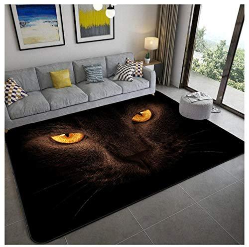 Ojos de leopardo súper suaves Alfombras de franela para sala de estar Alfombra antideslizante Dormitorio Alfombras de noche Alfombras de habitación para niños suaves Silla de oficina Alfombra de piso