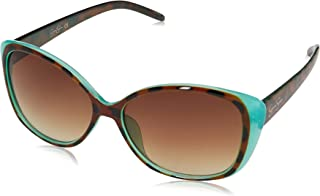 Women's J5012 Cool Wide UV Protective Cat-Eye Sunglasses   Wear All-Year   Glam Gifts for Women, 55 mm