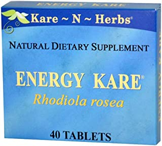Kare-N-Herbs Energy Kare Tablets, 40 Count