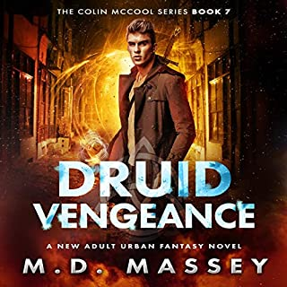 Druid Vengeance: A New Adult Urban Fantasy Novel cover art
