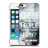 Officiel AMC The Walking Dead Rick Questions Citations Coque Dure pour l'arrière...