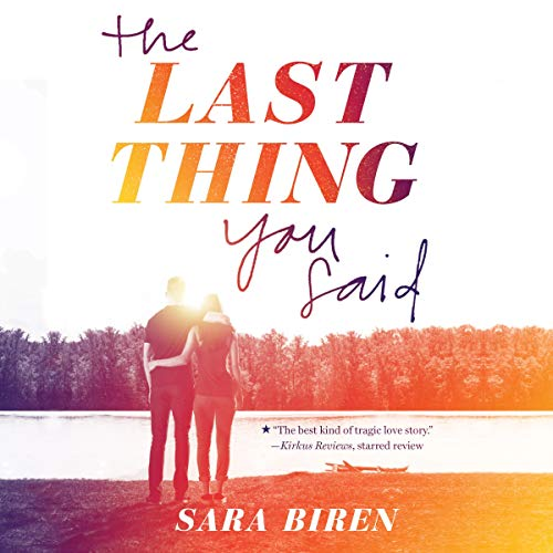 The Last Thing You Said audiobook cover art