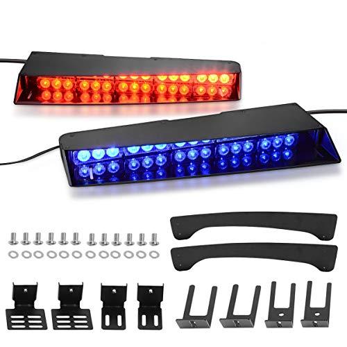 sun visor police lights - 4