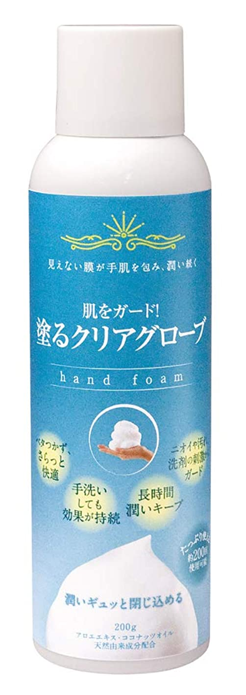 チキンシェルター科学的皮膚保護フォームA 塗るクリアグローブ
