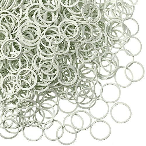 1000 Mini Rubber Bands Soft Elastic Bands for Kid...