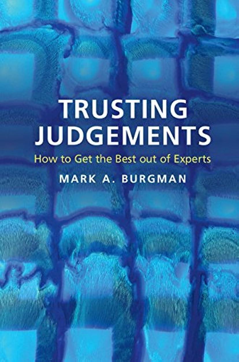 謎悪質なミネラルTrusting Judgements: How to Get the Best out of Experts (English Edition)
