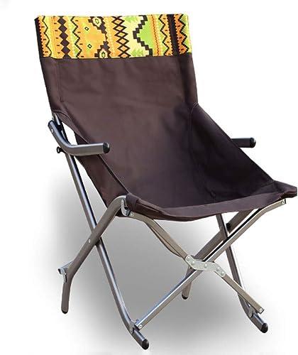 XHCP Chaise Pliante extérieure, Chaise de déjeuner en Alliage d'aluminium, Chaise Semi-Lounge, Chaise de pêche, Chaise de Loisirs