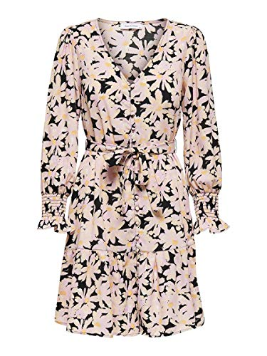 ONLY Damen Kleid Printed 40Black