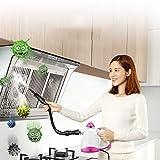 PDXGZ Vaporeta de Mano Profesional Que Limpia, Quita los Malos olores y desinfecta, Multifuncional, sin Productos químicos, Adecuado para hogar, automóvil, terraza