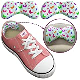Kids Shoe Inserts, Extra Sticky Heel Pads for Kids, Add Extra Comfort and Volume (0.5 Size), 6 Pieces of Cute Small Heel Inserts for Girls and Boys Boots, Trainers, Or School Shoes