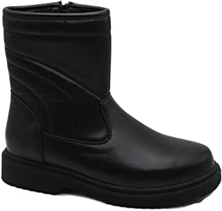 SkaDoo Boys Dressy Comfortable Classic Fur-Lined Insultated Waterproof Boots All Weather