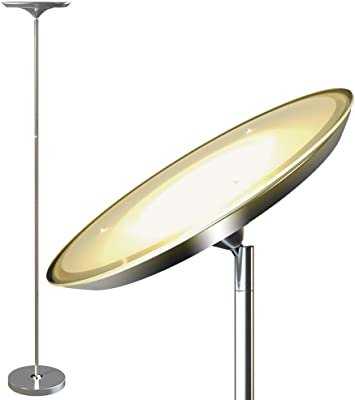Floor Lamp Led Torchiere Floor Lamp Tall Standing
