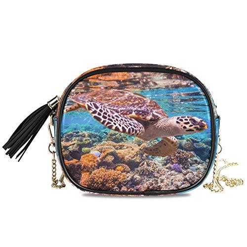 Portemonnee portemonnee Shopping Phone Bag groot formaat munthoes kaarthouder Ocean Animal Sea Turtle