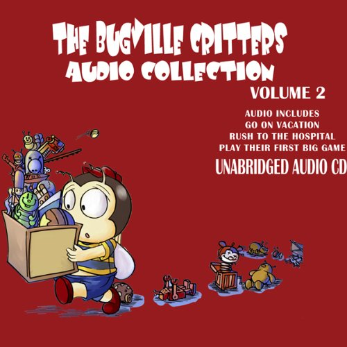 The Bugville Critters Audio Collection 2 audiobook cover art
