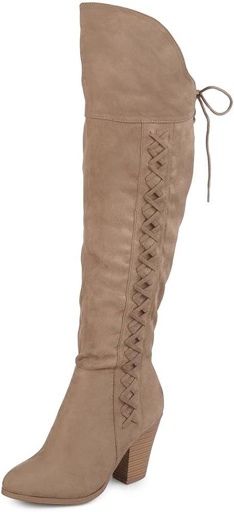 即納 Brinley 2020秋冬新作 Co. Womens Siro Faux Suede Over-The-Knee Boots US
