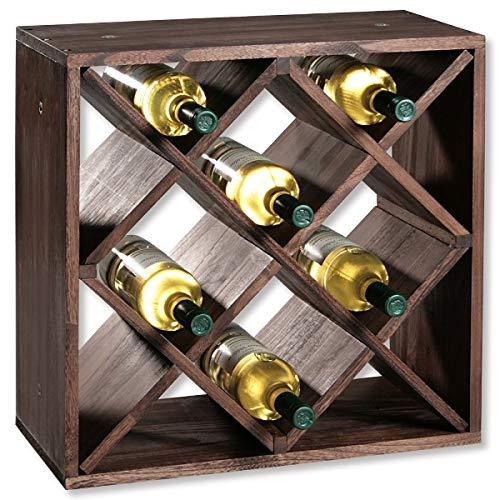 KESPER 12 Compartiment Système d'attaches pour Bouteille de vin, 50 x 25 x 50 cm