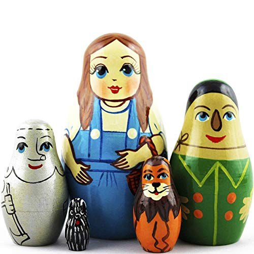 Wizard of Oz Nesting Dolls 5 pieces - Wizard of Oz Decorations - Wizard of Oz Toys Gifts
