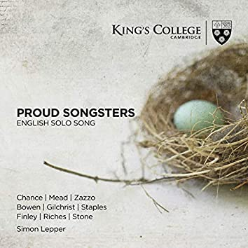 Proud Songsters: English Solo Song