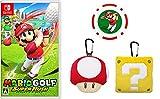 マリオゴルフ スーパーラッシュ -Switch +マリオアイテムぬいぐるみポーチセット(スーパーキノコ・ハテナブロック) (【Amazon.co.jp限定】オリジナルゴルフマーカー(チップタイプ) 同梱)