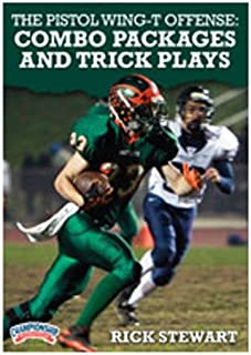 Championship Productions Rick Stewart: The Pistol Wing-T Offense: Combo Packages and Trick Plays DVD