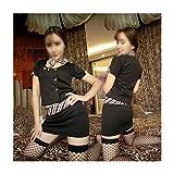 Frauen Flirt Kostüm KTV Lady Service Saunatechniker Service Uniform Versuchung Nachtclub Ds Kostüme Stewardess Service Professional Wear Bar Erotische Kleidung