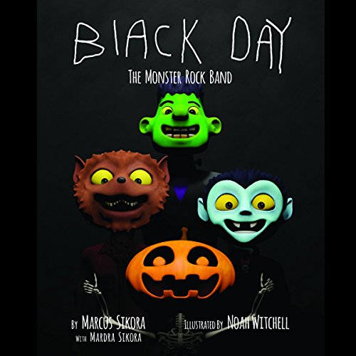Black Day: The Monster Rock Band cover art