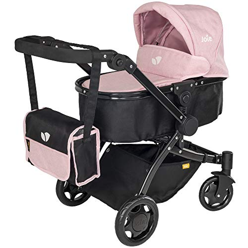 HTI Joie Puppenwagen 3 in 1 - Kinderwagen Spielzeug - Puppenwagen Buggy
