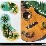 Layer Graph Pegatinas para Guitarras y Bajo - Palmeras Vintage