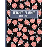 Teacher Planner 2020-2021: Weekly and Monthly Teacher Planner | Academic Year Lesson Plan and Record Book - Weekly and Monthly Calendar Agenda | Academic Year August - July (Beautiful Cover 8.5x11 In)