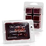 Cherry Tobacco Pipe Scented Melt- Maximum Scent Wax Cubes/Melts- 1 Pack -2 Ounces- 6 Cubes