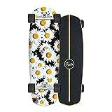 Surfskate Carver Skateboard CX4 Carving Bridge, 7 Layers érable Decks 76×24cm, roulements ABEC-11, surface antidérapante, pour Pumpping, diverses actions, pour enfants, adolescents et adultes,D