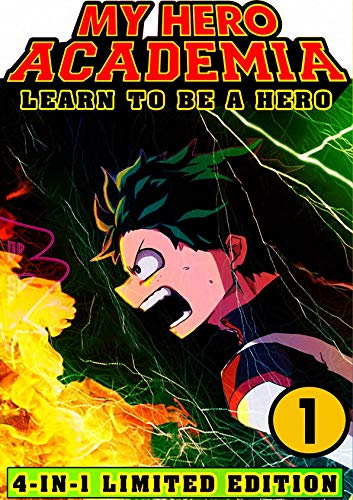My Hero Academia Learn: Book 1 Collection - Shonen Manga Action My Hero Academia Fantasy Adventures (English Edition)