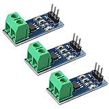 HALJIA 3 unidades ACS712 30A Rango Analógico Sensor Corriente Módulo ACS712ELCTR-30A Compatible con Arduino