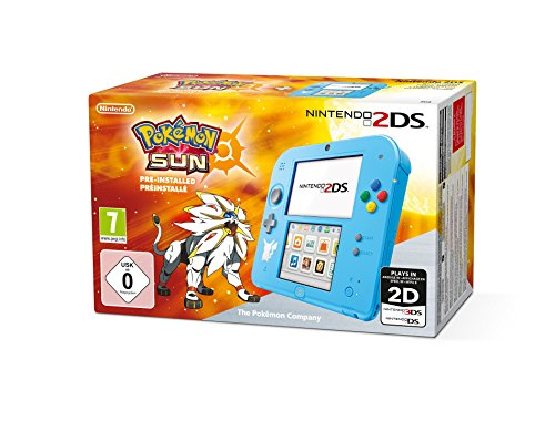Nintendo 2DS - Konsole (Special Edition) inkl. Pokémon Sonne (vorinstalliert)