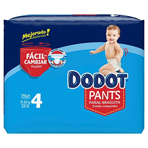 Dodot Pants Mainline Carry Pack Talla 4 33 uds.