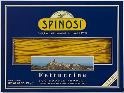 Spinosi Fettuccine Pasta With Eggs - 250gr/8.8oz by Spinosi