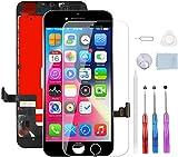 YPLANG Écran pour iPhone 8 Écran LCD Noir Écran Tactile Retina Numériseur Assemblage de Cadre avec Outils de Réparation...