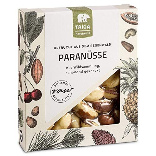 Taiga Naturkost - Paranüsse - Bio - Rohkost-Qualität - 70 g