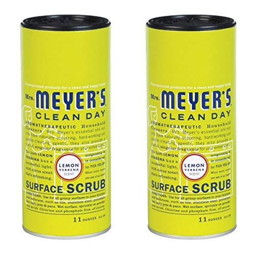 Mrs. Meyer's Clean Day Surface Scrub - Lemon Verbana - 11 oz - 2 pk