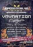 Blackfield Festival Gelsenkirchen 2009 Konzert-Poster-1
