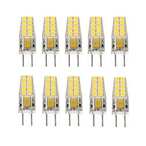 YITEJIA-LIGHTBULBS hoogwaardig LED-licht 12V AC/DC 3W LED GY6.35 (Gl. Tot 25 W halogeen), niet dimbaar (verpakking van 10 stuks).