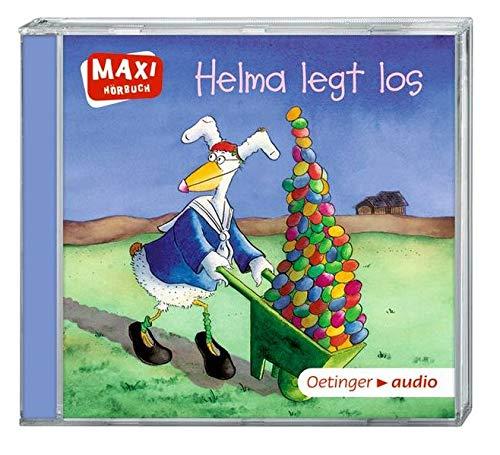 Helma legt los (CD): Ungekürzte Lesung mit Geräuschen und Musik MAXI-Hörbuch