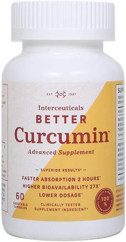 Interceuticals Better Curcumin Ranking TOP18 - Theracurmin 90 Price reduction mg 27
