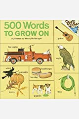 500 Words to Grow on (Pictureback(R)) Paperback