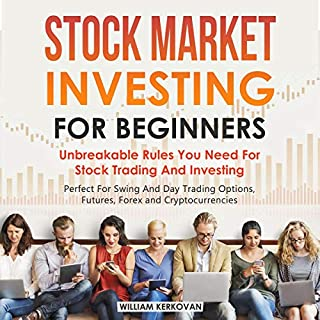 Stock Market Investing for Beginners: Unbreakable Rules You Need for Stock Trading and Investing cover art
