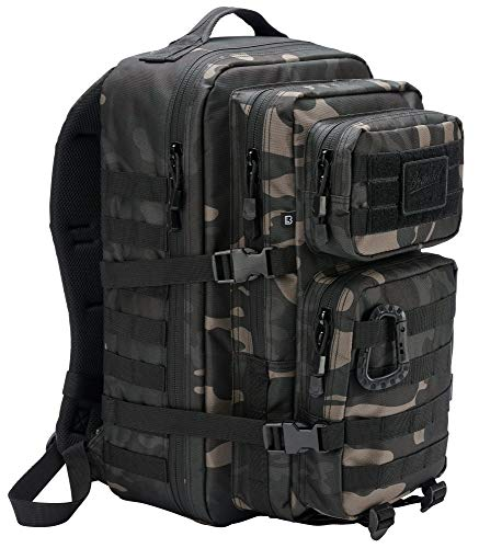 Brandit US Assault Rucksack Darkcamo Medium