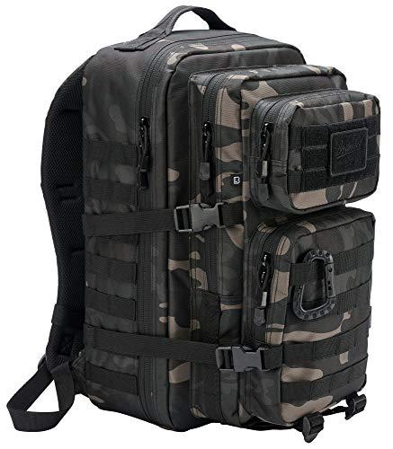 Brandit US Assault Rucksack Darkcamo Large