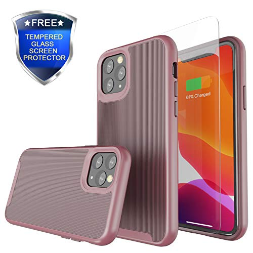 Rhidon for iPhone 11 Pro MaxCase,Slim Dual Layer Protection Case Hard PC Shell Shockproof TPU Anti-Scratch Cover Cases for 2019 New iPhone 11 Pro Max 6.5