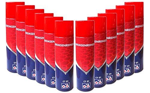 12latas AD CT01freno limpiador de spray 500ml (= 6L) 40505604