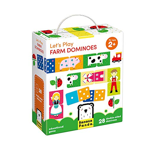 Lets Play Farm Dominoes Age 2+